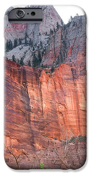 Sandstone Wall in Zion iPhone Case by Robert Bales