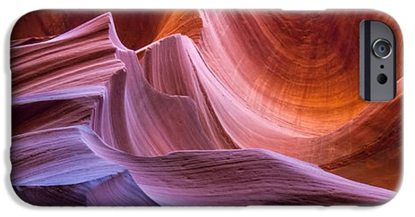 Pathway iPhone Cases - Sandstone Waves of Antelope Canyon iPhone Case by Pierre Leclerc Photography