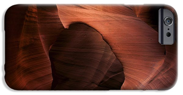 Red Rock iPhone Cases - Sandstone Window iPhone Case by Mike  Dawson