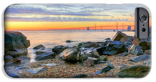 Annapolis Maryland iPhone Cases - Sandy iPhone Case by JC Findley