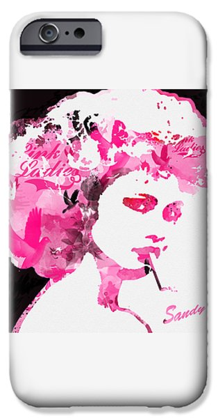 Casey Digital iPhone Cases - Sandy iPhone Case by Patricia Lintner