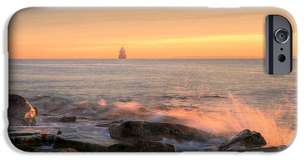 Annapolis Md iPhone Cases - Sandy Point Shoal  iPhone Case by JC Findley