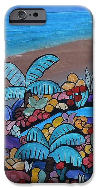 Santa Barbara Beach iPhone Case by Barbara St Jean