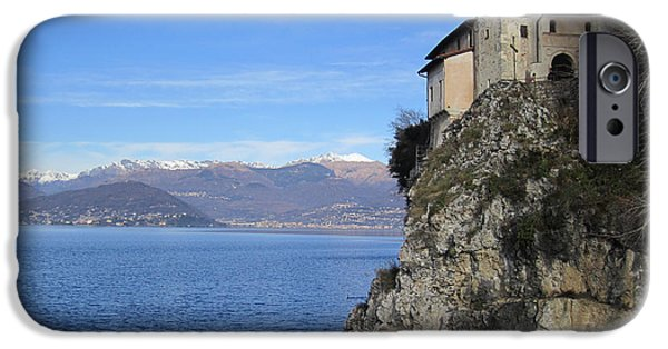 IPhone 6 Case featuring the photograph Santa Caterina - Lago Maggiore by Travel Pics
