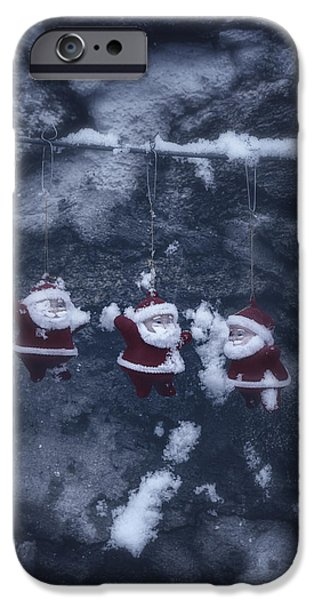 Santa iPhone Cases - Santa Claus iPhone Case by Joana Kruse