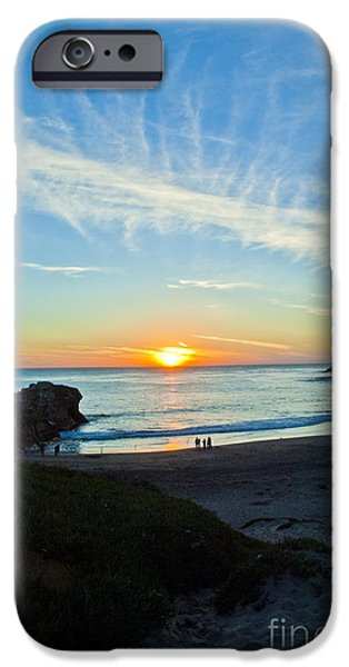 Pch iPhone Cases - Santa Cruz beach 1 iPhone Case by Micah May