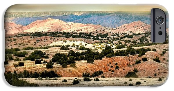 Western Landscape iPhone Cases - A Girl From New York iPhone Case by Diana Angstadt