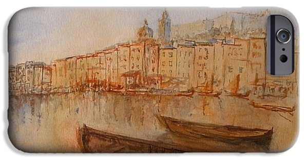 Genoa iPhone Cases - Santa Margherita Ligure iPhone Case by Juan  Bosco
