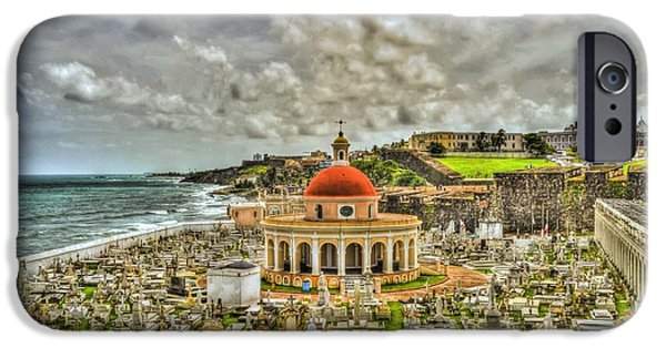 Cemetary iPhone Cases - Santa Maria Madgaslena iPhone Case by Dado Molina