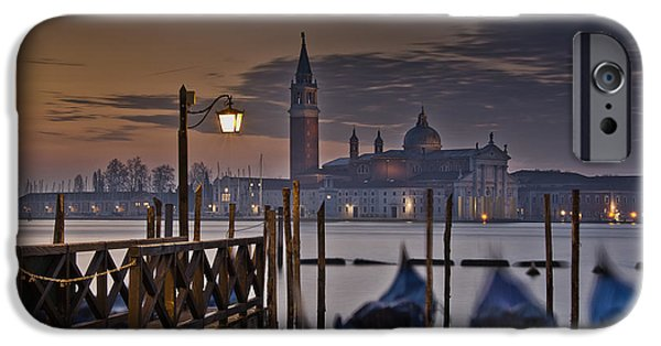Piazza San Marco iPhone Cases - Santa Maria Maggiore iPhone Case by Marion Galt