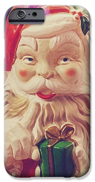 Best Sellers -  - Toy Store iPhone Cases - Santa Whispers iPhone Case by Toni Hopper