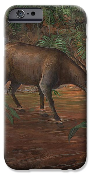 Saola iPhone Case by ACE Coinage painting by Michael Rothman