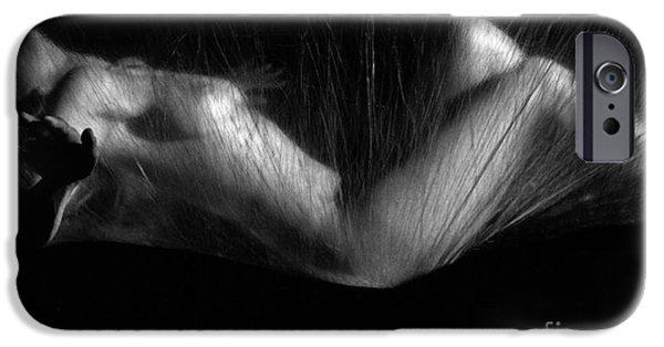 Female Body iPhone Cases - Sas 3 iPhone Case by Tony Cordoza