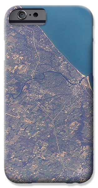 Satellite View Of St. Joseph Area iPhone Case by Stocktrek Images