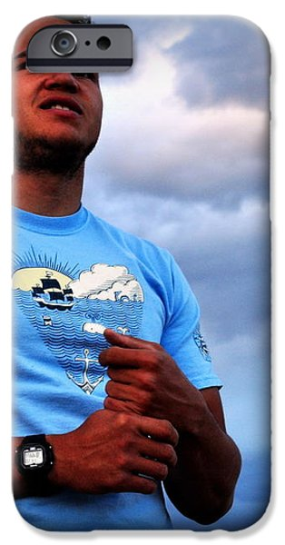 Satisfied At Day's End iPhone Case by Lisa Holland-Gillem