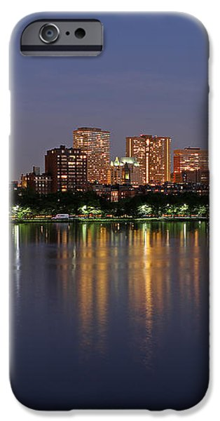 Saturday Night Live in Beantown iPhone Case by Juergen Roth