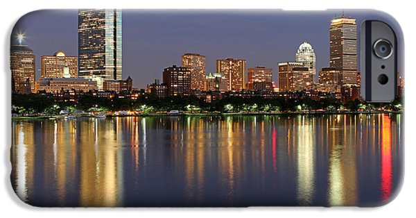 Best Sellers -  - City. Boston iPhone Cases - Saturday Night Live in Beantown iPhone Case by Juergen Roth