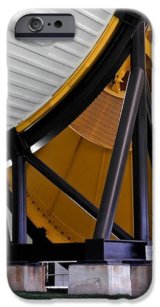 Saturn V Launch Vehicle Closeup iPhone Case by Kirsten Giving