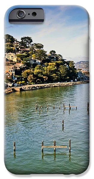 Sausalito iPhone Cases - Sausalito 3 iPhone Case by Dennis Coates