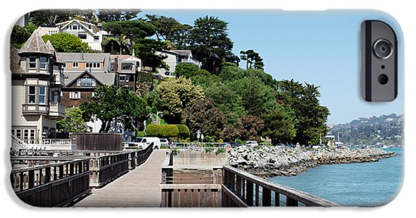 Sausalito iPhone Cases - Sausalito charm iPhone Case by Jo Ann Snover