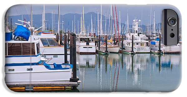 Sausalito iPhone Cases - Sausalito Harbor California iPhone Case by Marianne Campolongo