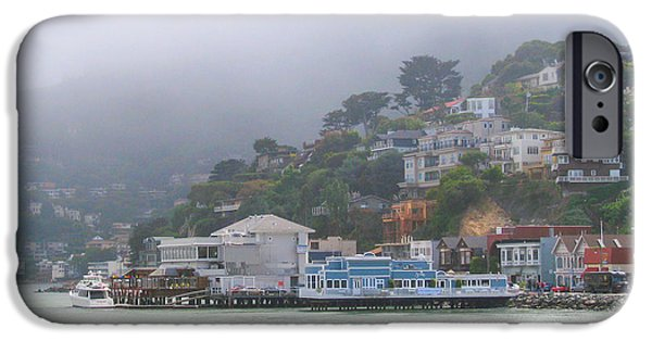 Sausalito iPhone Cases - Sausalito Mists iPhone Case by David Nichols
