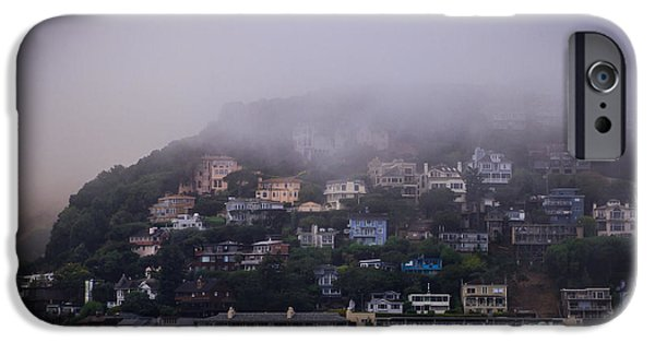 Sausalito iPhone Cases - Sausalito Morning iPhone Case by Mitch Shindelbower