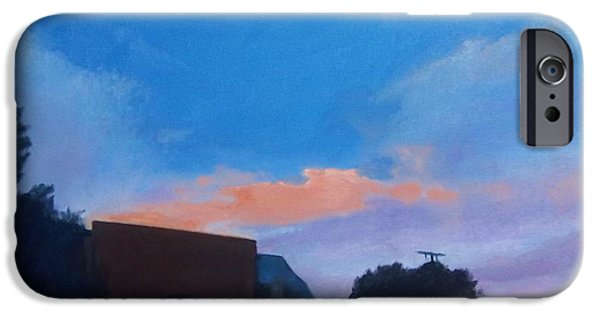 Sausalito Paintings iPhone Cases - Sausalito Sky iPhone Case by Richard Weinberger