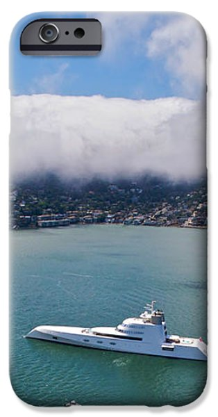 Sausalito Skyline iPhone Case by Steven Lapkin