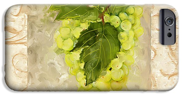 Alcoholic Beverages iPhone Cases - Sauvignon Blanc iPhone Case by Lourry Legarde