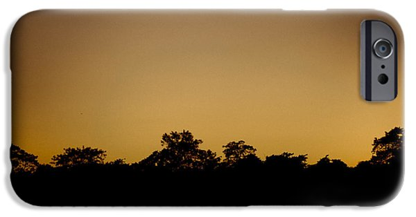 Tibetan Buddhism iPhone Cases - Savanna at sunset iPhone Case by Raimond Klavins