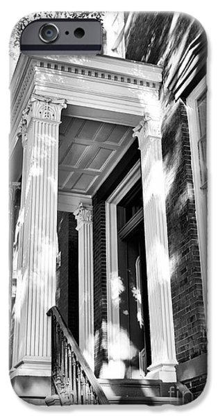 Chatham iPhone Cases - Savannah Columns iPhone Case by John Rizzuto