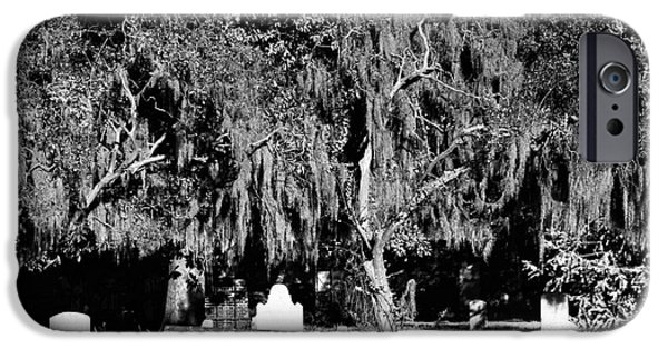 Chatham iPhone Cases - Savannah Resting Place iPhone Case by John Rizzuto