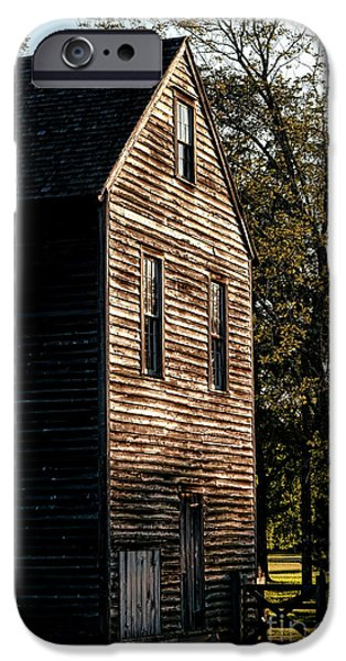 Sawmill Sunlight  iPhone Case by Olivier Le Queinec