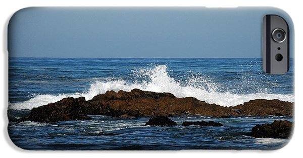 Seascapes iPhone Cases - Sc12 iPhone Case by Thomas Medaris