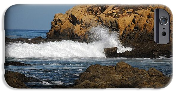 Seascapes iPhone Cases - Sc15 iPhone Case by Thomas Medaris