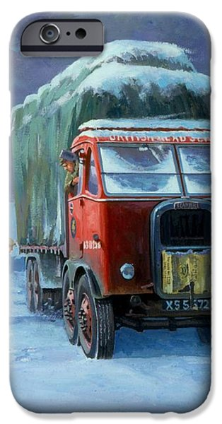 Scammell R8 iPhone Case by Mike  Jeffries