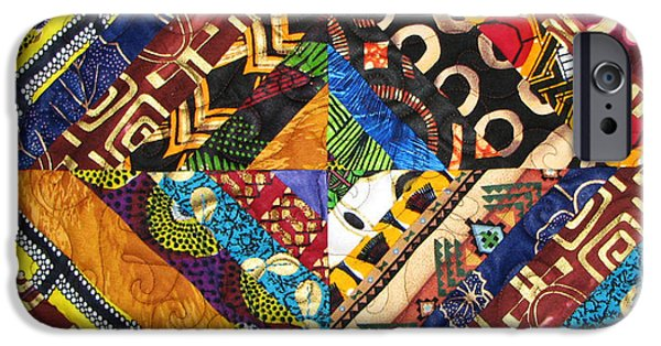 African-americans Tapestries - Textiles iPhone Cases - Scandalous iPhone Case by Aisha Lumumba