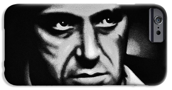 The Kingpins iPhone Cases - Scarface Staredown iPhone Case by Al Powell Photography USA