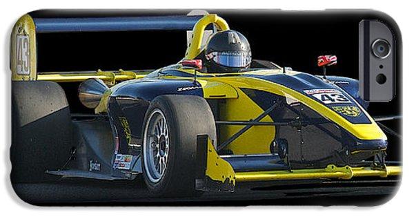Circuit iPhone Cases - SCCA Formula Atlantic FA iPhone Case by Dave Koontz