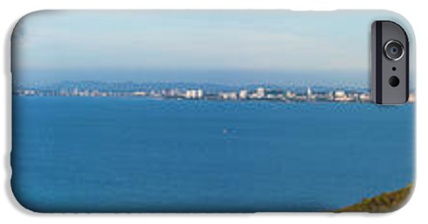 Ocean Panorama iPhone Cases - scenic from Kohlan iPhone Case by Atiketta Sangasaeng