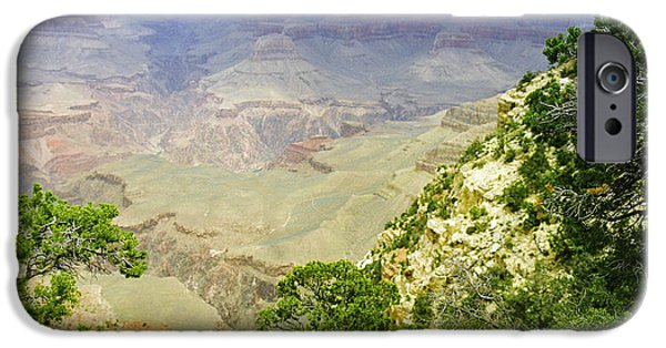 Grand Canyon iPhone Cases - Scenic Grand Canyon 12 iPhone Case by M K  Miller