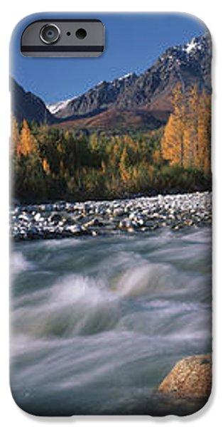 Scenic Of Granite Creek In Autumn Sc iPhone Case by Calvin Hall
