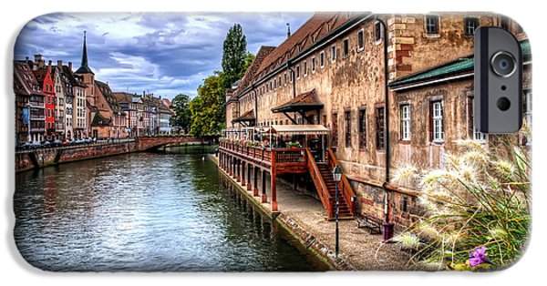Drama iPhone Cases - Scenic Strasbourg  iPhone Case by Carol Japp