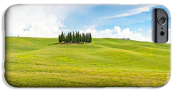 Chianti Hills iPhone Cases - Scenic Tuscany iPhone Case by JR Photography