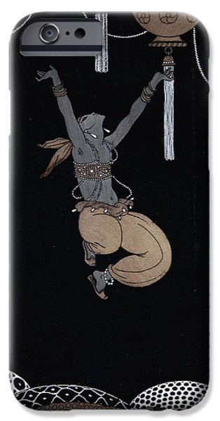 Culture iPhone Cases - Scheherazade iPhone Case by Georges Barbier