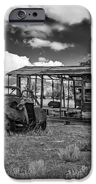 Schellbourne Station And Old Truck iPhone Case by Robert Bales