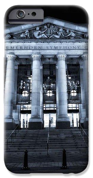 Schermerhorn Symphony Center iPhone Case by Dan Sproul