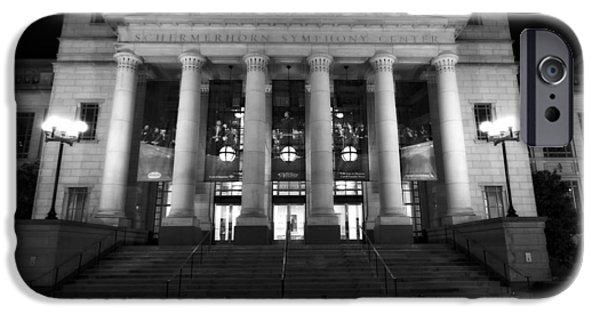 Tennessee Landmark iPhone Cases - Schermerhorn Symphony Center In Nashville iPhone Case by Dan Sproul