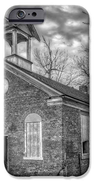 School House iPhone Case by Scott Norris